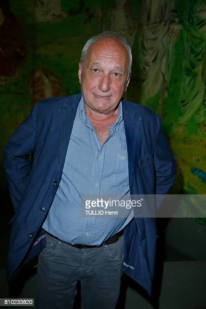 at the dinner of the Maurice Amon Foundation at the Museum of Modern Art of the City of Paris Francois Berleand on june 7 2017 in Paris France...