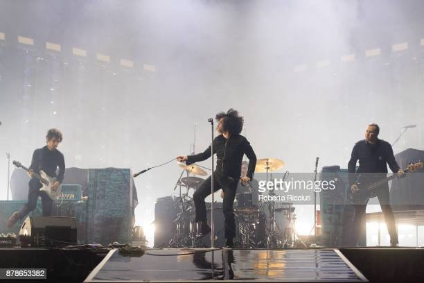 At The Drive In perform at The SSE Hydro on November 24 2017 in Glasgow Scotland