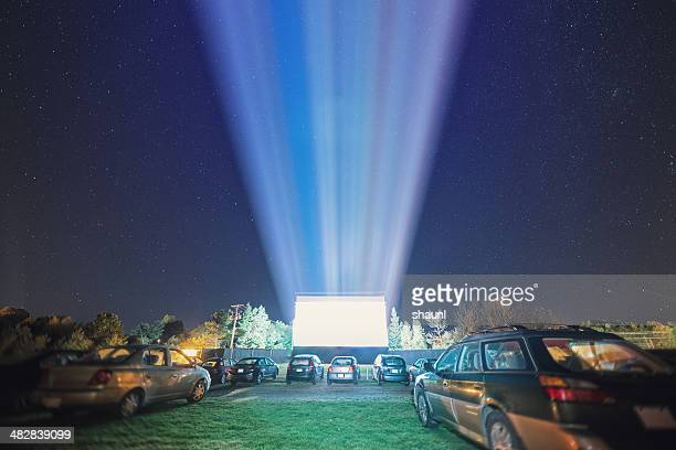 at the drive in - film industry stock pictures, royalty-free photos & images