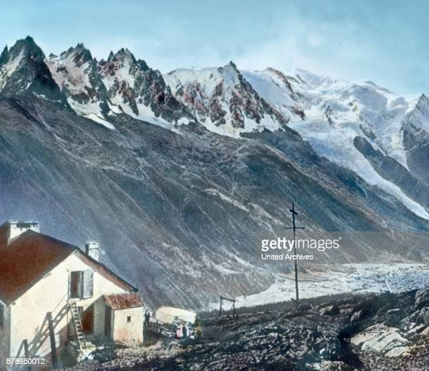 At the edge of the Mont Blanc mountain range this town is Chamonix