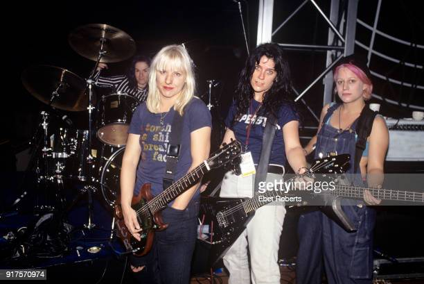 L7 at the Elvis Tribute at the Pyramid in Memphis Tennessee on October 8 1994