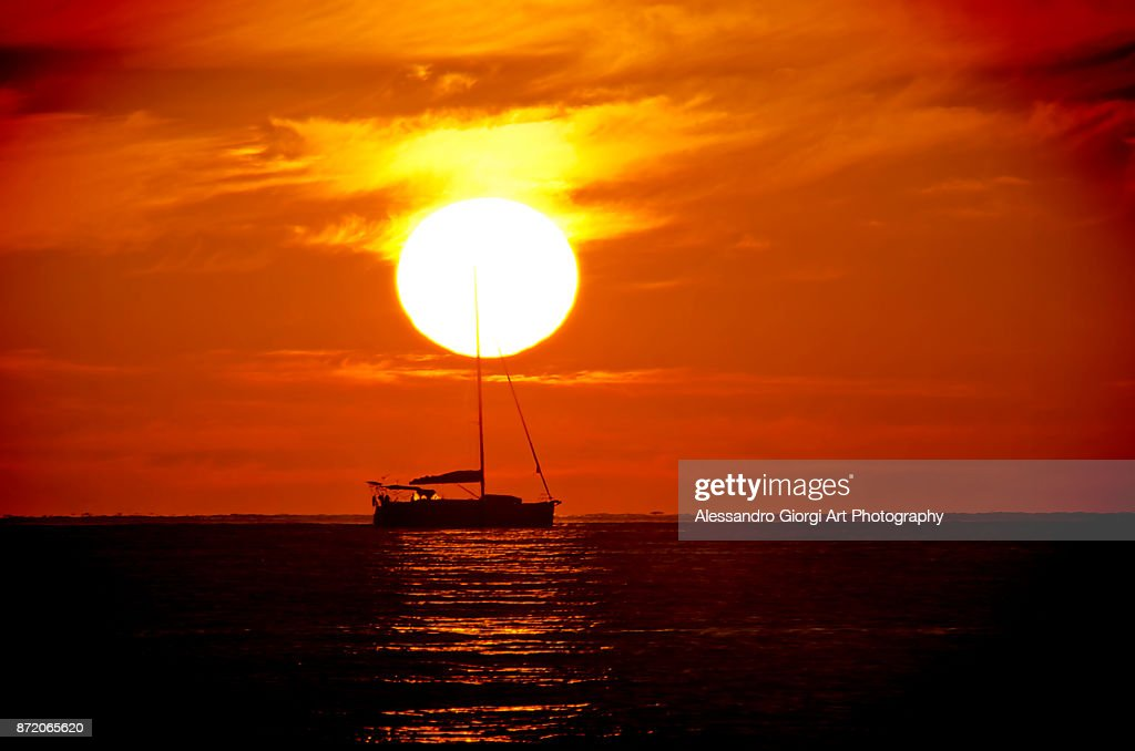 At the end of the day : Foto stock