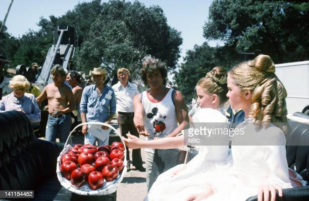 PRAIRIE At the End of the Rainbow Episode 10 Aired Pictured Director Michael Landon Melissa Gilbert as Laura Ingalls Wilder Melissa Sue Anderson as...