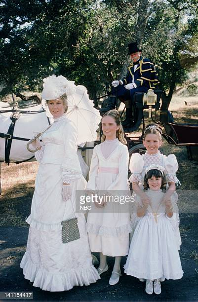 PRAIRIE 'At the End of the Rainbow' Episode 10 Aired Pictured Karen Grassle as Caroline Quiner Holbrook Ingalls Melissa Sue Anderson as Mary Ingalls...