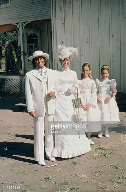 PRAIRIE 'At the End of the Rainbow' Episode 10 Aired Pictured Michael Landon as Charles Philip Ingalls Karen Grassle as Caroline Quiner Holbrook...