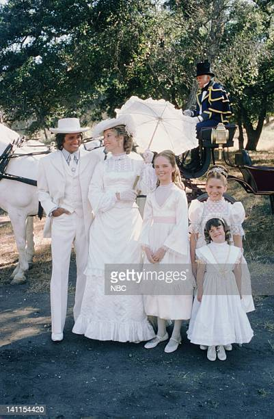 PRAIRIE At the End of the Rainbow Episode 10 Aired Pictured Michael Landon as Charles Philip Ingalls Karen Grassle as Caroline Quiner Holbrook...