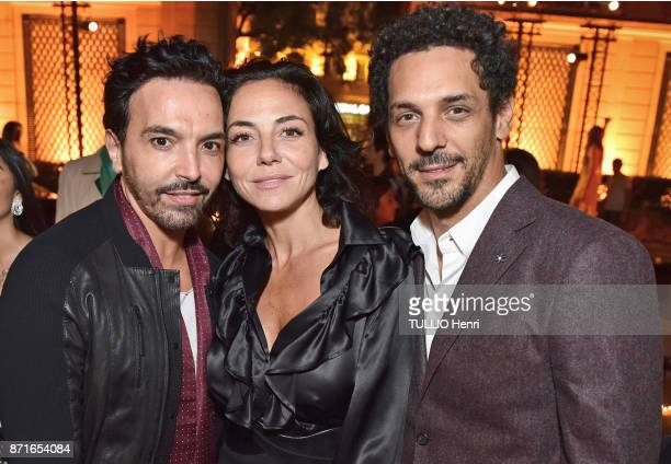 at the evening gala for the 10th anniversary of the jewelery Messika for the collection Move Kamel Ouali Sandra de Matteis and Tomer Sisley are...