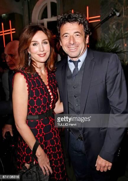 at the evening gala for the 80th birthday of Claude Lelouch Jean Dujardin Elsa Zylberstein and Patrick Bruel are photographed for Paris Match on...