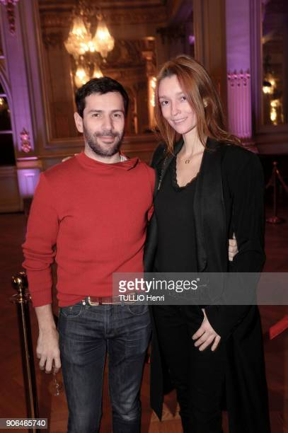 at the evening gala for the Italian lingerie brand Intimissimi to present its new French ambassador the star dancer MarieAgnès Gillot Alexis Mabille...