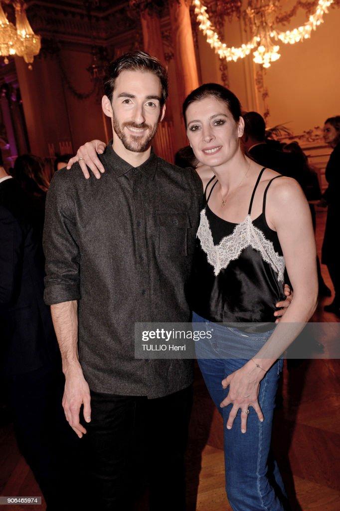 Intimissimi Presents New Ambassador Dancer Marie-Agnes Gillo Gala : News Photo