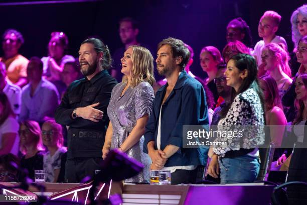 at the first liveshow of The Masked Singer at Coloneum on June 27 2019 in Cologne Germany