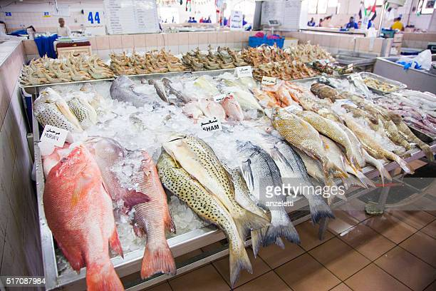 """Im Fisch Markt """" in Abu Dhabi"""