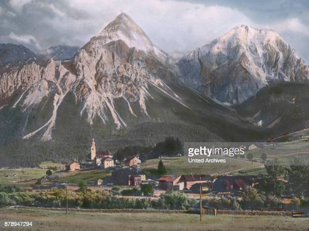 At the foot of the Zugspitze is the village of Lermoos Tyrol side at a height of almost 1000m It is only small but has both summer and winter tourism...
