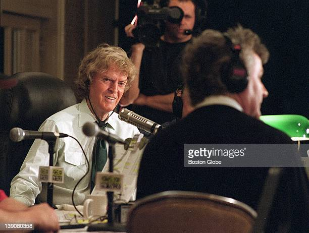 At the Four Seasons Hotel from left Don Imus with guest Irish tenor John McDermott