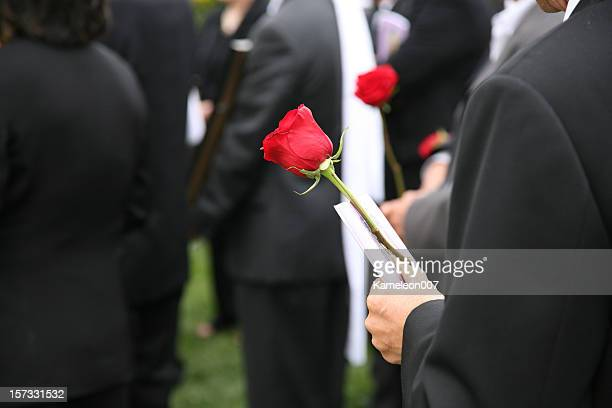 At the Funeral (burial)