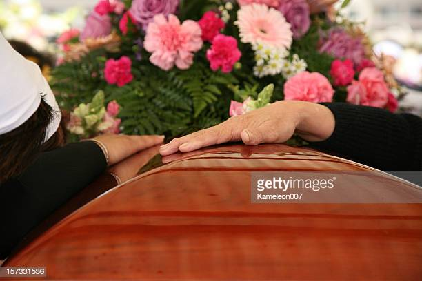 at the funeral (burial) - coffin stock pictures, royalty-free photos & images
