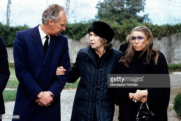 At the funerals of Umberto II the last king of Italy in the Abbey of Altacomba near AixlesBains in Savoy the son Prince Vittorio Emanuele of Savoy...