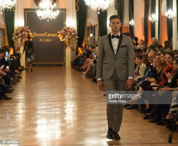 EXCELSIOR NAPLES ITALY/ CAMPANIA ITALY At the Grand Hotel Excelsior in Naples the Neapolitan Designer Bruno Caruso presents his Je t' aime...