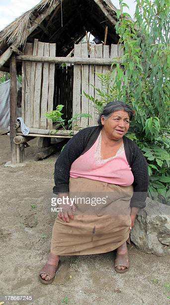 At the homestead of Maria Rufina Suarez Bonilla in Mexico's Tlaxcala state the roofing is made of thatch August 21 2013 It lacks even a primitive...