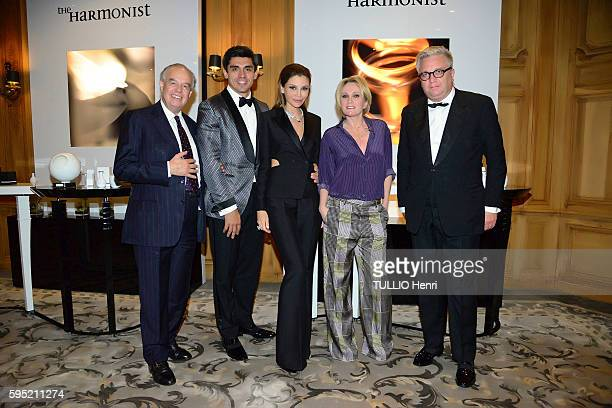 at the hotel George V Four seaons in Paris evening gala for the perfums The Harmonist by Lola KarimovaTillyaeva on July 7 2016 Frederic Mitterrand...
