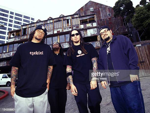 At the House of Blues during P.O.D. 2002 Photo Session - Los Angeles in Los Angeles, California.