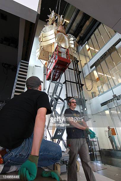 At the Institute of Contemporary Art on 100 Northern Ave., an explanation/narration of how a major art installation comes together from start to...