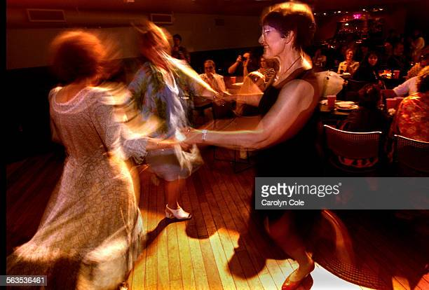 At the Knitting Factory on Hollywood Blvd., the Shtetl Menschen music group, preform traditional Jewish music and dance while the audience enjoys...
