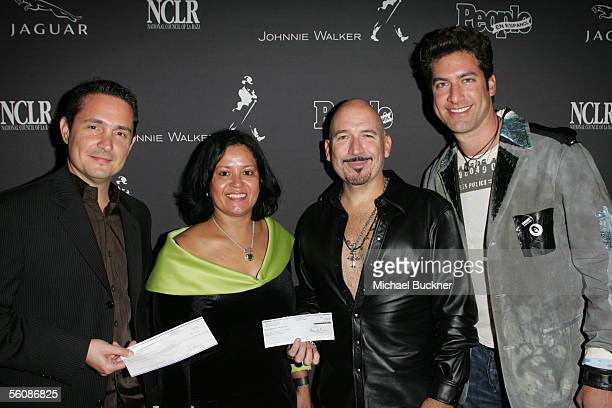 At the Latin Grammy Party benefitting National Council of La Raza Hurricane Relief Fund Ricardo Valdes Multicultural Marketing manager of...