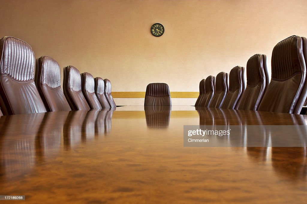 At the meeting room : Stockfoto