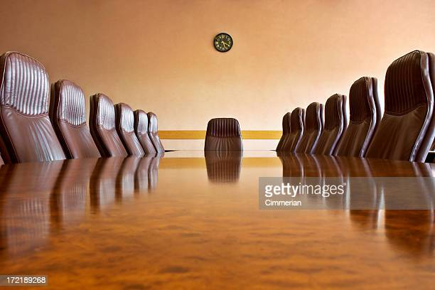 At the meeting room