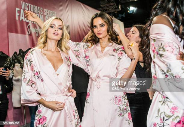 THE VICTORIA'S SECRET FASHION SHOW IN SHANGHAI CHINA FOR THE FIRST TIME at the MercedesBenz Arena Broadcasting TUESDAY NOV 28 ON CBS Pictured L to R...