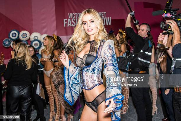 THE VICTORIA'S SECRET FASHION SHOW IN SHANGHAI CHINA FOR THE FIRST TIME at the MercedesBenz Arena Broadcasting TUESDAY NOV 28 ON CBS Pictured Frida...