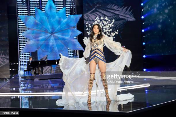 THE VICTORIA'S SECRET FASHION SHOW IN SHANGHAI CHINA FOR THE FIRST TIME at the MercedesBenz Arena Broadcasting TUESDAY NOV 28 ON CBS Pictured Ming Xi