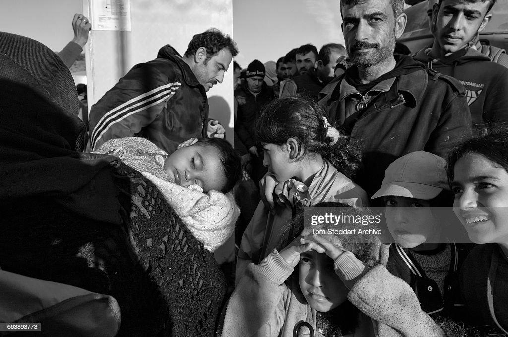 Refugees On Lesbos : ニュース写真