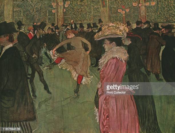 The Dance' Valentin the Boneless and La Goulue dancing in the famous Paris nightclub Painting in the Philadelphia Museum of Art Pennsylvania USA From...