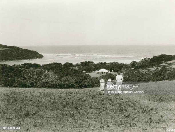 At the mouth of the Nahoon East London Cape Province South Africa 1928