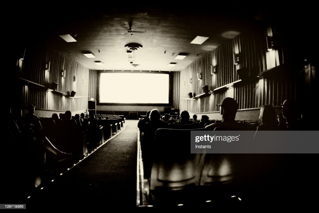At the movies : Stock Photo