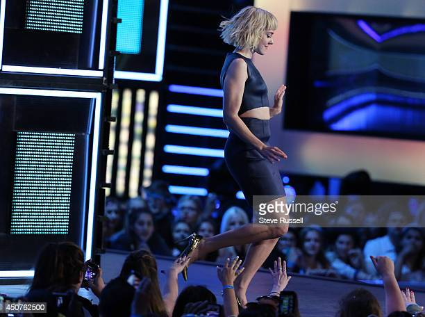 TORONTO ON JUNE 15 at the Much Music Video Awards at MuchMusic on Queen Street West in Toronto June 15 2014
