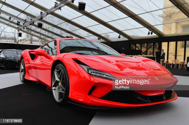 At the Paris Festival Automobile International with Concept Cars and Automotive Design Exhibition, FERRARI exhibits its model Ferrari SF 90 Stradale...