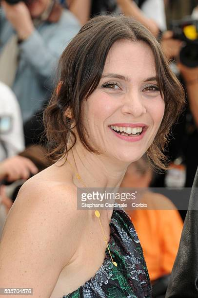 at the Photocall for 'Rebecca H ' during the 63rd Cannes International Film Festival
