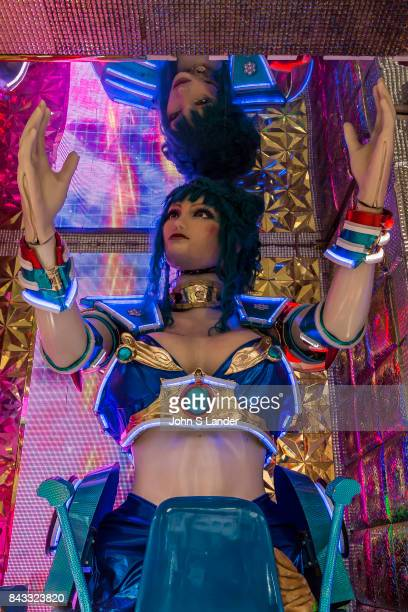 At the Robot Restaurant in Kabukicho Shinjuku robotic women and demons stage mock battles in this steroid heavy attraction with neon mirrors and huge...