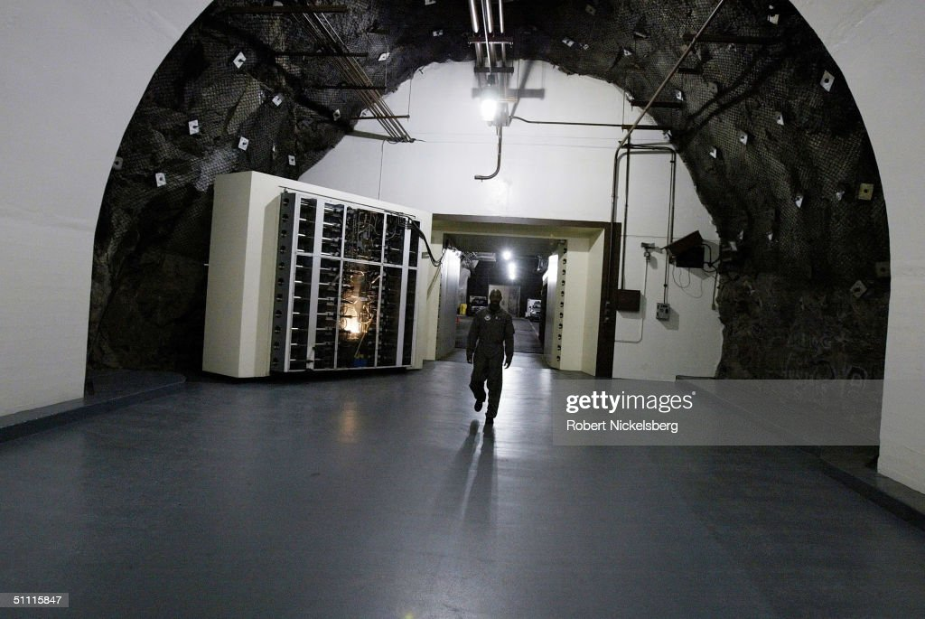 NORAD Cheyenne Mountain Complex in Colorado Springs, CO : News Photo
