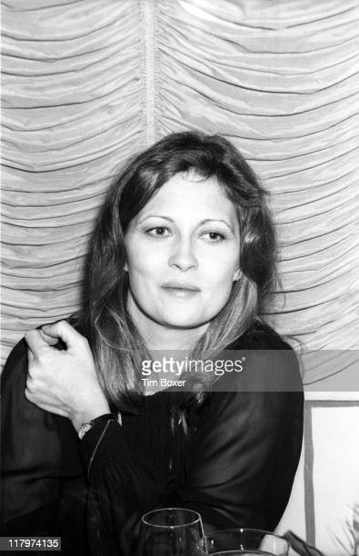 At the St. Regis Hotel, American actress Faye Dunaway attends a benefit dinner and screening of her film 'Voyage of the Damned' , New York, New York,...