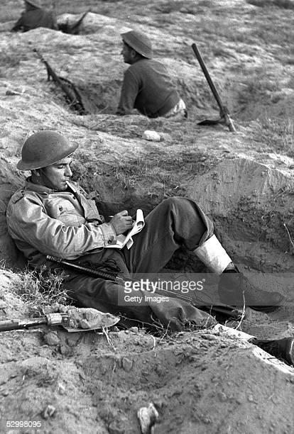 At the start of Israel's first occupation of this wartorn area an invading Israeli infantry trooper writes home during a lull in the fighting...