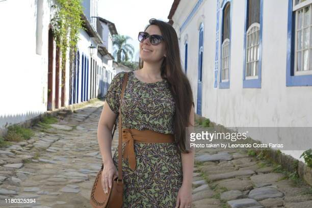 at the stones path of paraty - leonardo costa farias stock photos and pictures