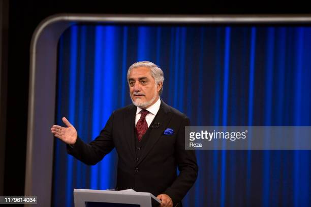 At the the network TOLO televised debate Dr Abdullah Abdullah with Gulbuddin Hekmatyar head of Party for the Islamic unity of Afghanistan The third...
