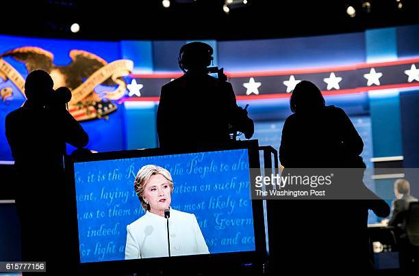 LAS VEGAS NY At the third and final Presidential debate Democratic Nominee for President of the United States former Secretary of State Hillary...
