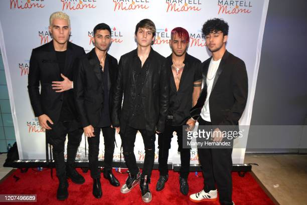 CNCO at the TJ Martell Foundation's 2020 Martell In Miami Gala at the Frost Science Museum on February 19 2020 in Miami FL