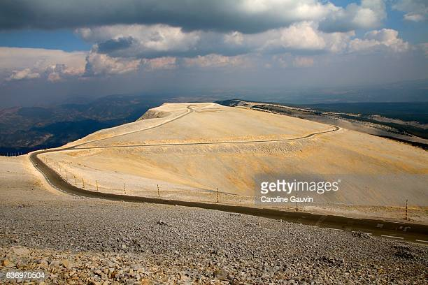 At the top of Mount Ventoux