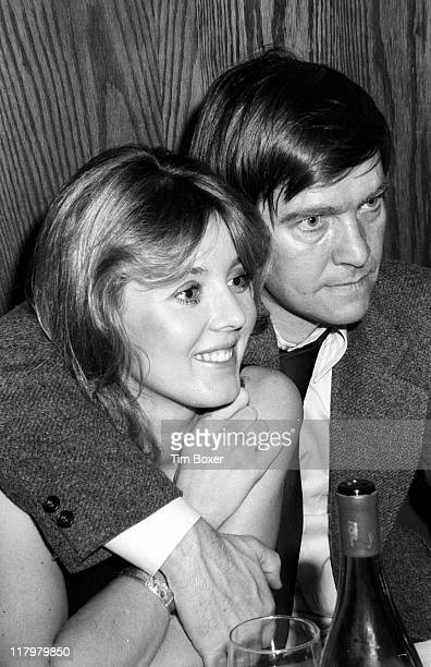At the US Steak House married British actors Cheryl Kennedy and Tom Courtenay attend the opening night party for the play 'Otherwise Engaged' New...